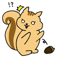 Shi-chan of chipmunk English version sticker #1254184