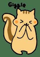 Shi-chan of chipmunk English version sticker #1254186