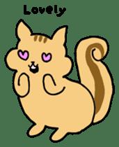 Shi-chan of chipmunk English version sticker #1254190