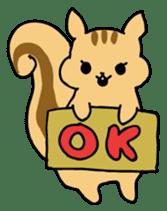 Shi-chan of chipmunk English version sticker #1254194