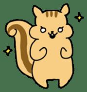 Shi-chan of chipmunk English version sticker #1254196