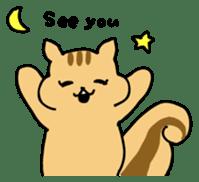 Shi-chan of chipmunk English version sticker #1254201