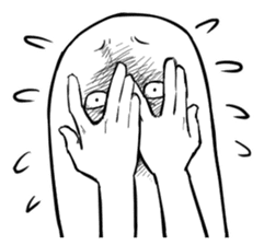 Intuitive expression sticker #1254460