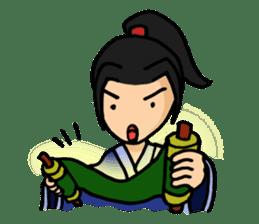 Kung Fu Guy sticker #1256602