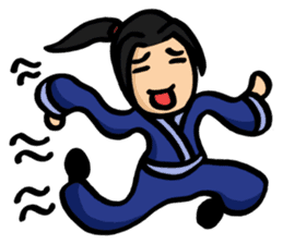 Kung Fu Guy sticker #1256640