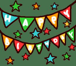 HAPPY BIRTHDAY! sticker #1257293