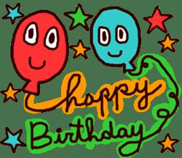 HAPPY BIRTHDAY! sticker #1257294