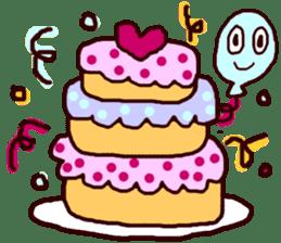 HAPPY BIRTHDAY! sticker #1257301