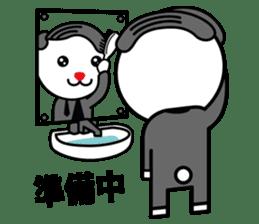 Sidepart Hairstyle Rabbit sticker #1258005