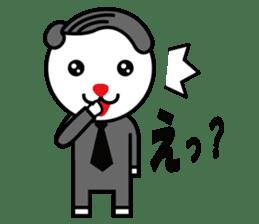Sidepart Hairstyle Rabbit sticker #1258008