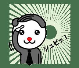 Sidepart Hairstyle Rabbit sticker #1258029