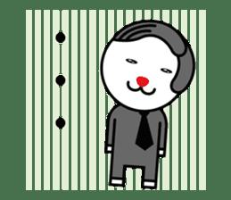 Sidepart Hairstyle Rabbit sticker #1258030