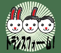 Sidepart Hairstyle Rabbit sticker #1258040