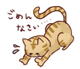 Cat sticker #1258451