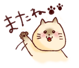 Cat sticker #1258453