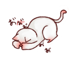Cat sticker #1258478
