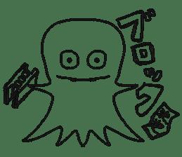 Obake no Nyon sticker #1268059