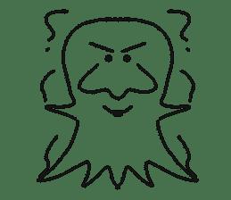 Obake no Nyon sticker #1268062