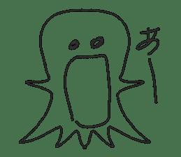 Obake no Nyon sticker #1268084