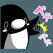สติ๊กเกอร์ไลน์ Teikou Penguin 2