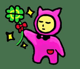 CAT MAN NINJA sticker #1269907