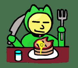CAT MAN NINJA sticker #1269912