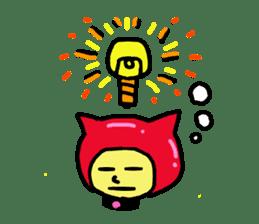 CAT MAN NINJA sticker #1269919