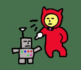 CAT MAN NINJA sticker #1269922
