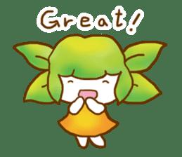Little leaf sticker #1270576