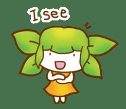 Little leaf sticker #1270584
