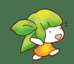 Little leaf sticker #1270586