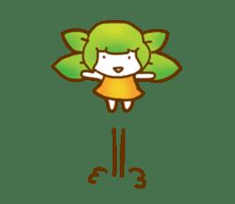 Little leaf sticker #1270599