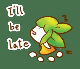 Little leaf sticker #1270605