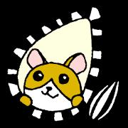 สติ๊กเกอร์ไลน์ Daily hamster