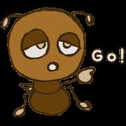 สติ๊กเกอร์ไลน์ Mushi-kun Insecta Message
