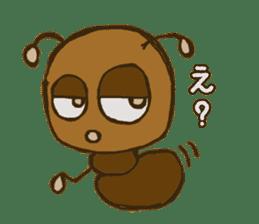 Mushi-kun Insecta Message sticker #1272530
