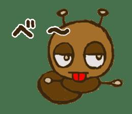 Mushi-kun Insecta Message sticker #1272531