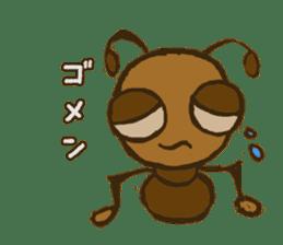 Mushi-kun Insecta Message sticker #1272547