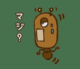 Mushi-kun Insecta Message sticker #1272555