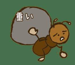 Mushi-kun Insecta Message sticker #1272558