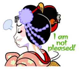 Maiko in Kyoto(English) sticker #1274003