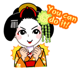 Maiko in Kyoto(English) sticker #1274007