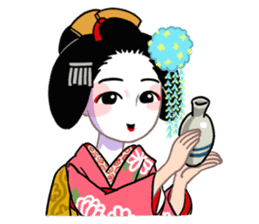 Maiko in Kyoto(English) sticker #1274014