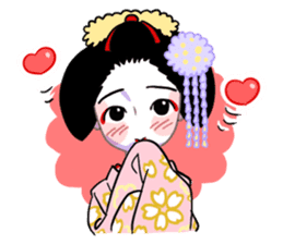 Maiko in Kyoto(English) sticker #1274016
