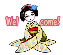 Maiko in Kyoto(English) sticker #1274037