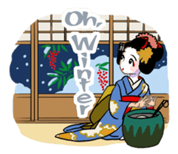 Maiko in Kyoto(English) sticker #1274041