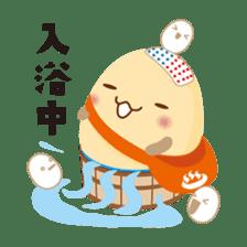 """Wakura Onsen """"Wakutama kun"""" sticker #1281509"""