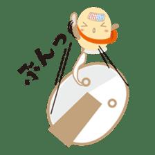 """Wakura Onsen """"Wakutama kun"""" sticker #1281526"""