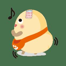 """Wakura Onsen """"Wakutama kun"""" sticker #1281527"""