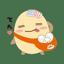 """Wakura Onsen """"Wakutama kun"""" sticker #1281531"""